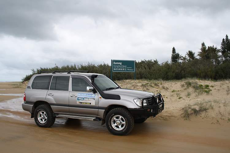 Atlas 4WD Hire for Fraser Island