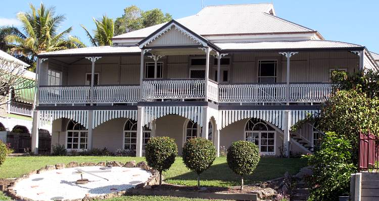 The harbour master's house in Maryborough Qld